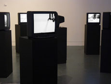 TV Interruptions (7 TV Pieces): The Installation