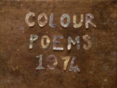 Colour Poems